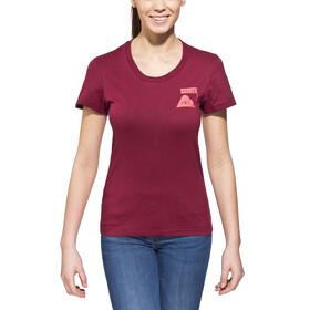 POLER Summit - Camiseta manga corta Mujer - rojo